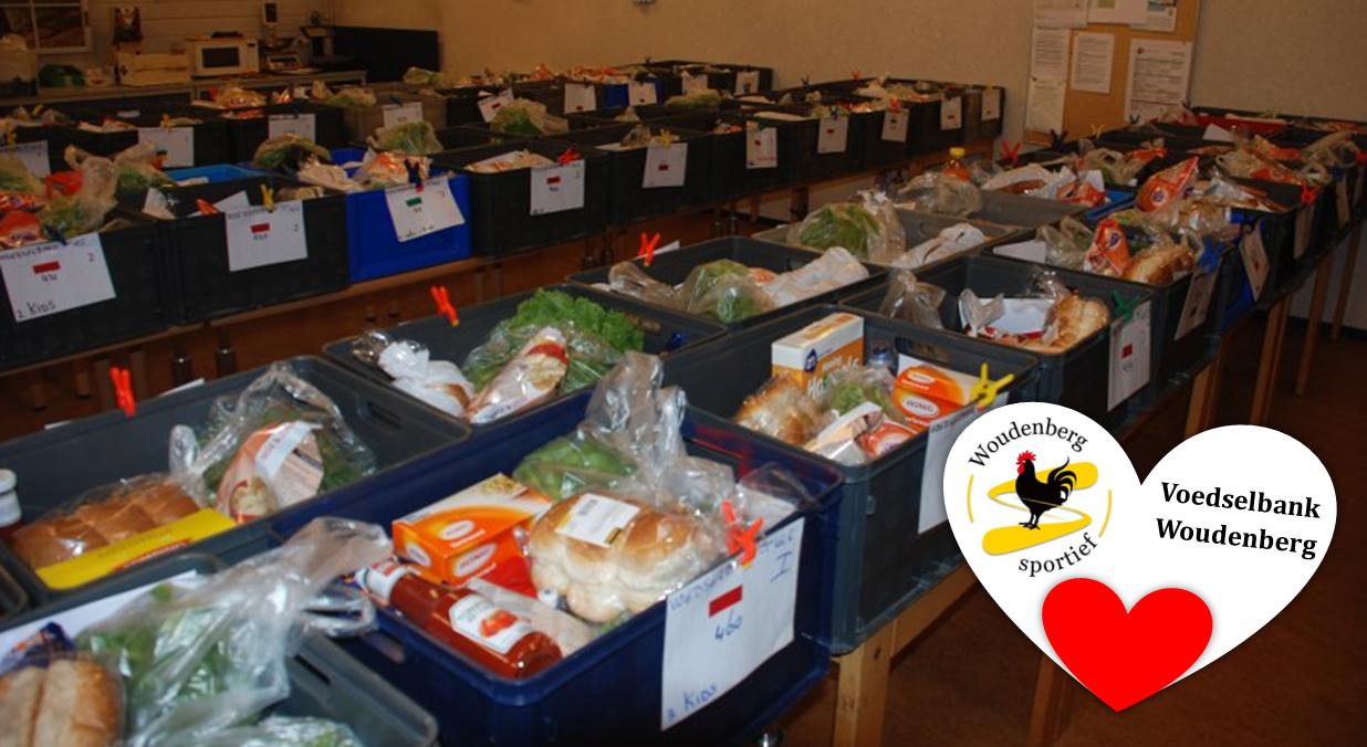 Steun de voedselbank Woudenberg en doneer