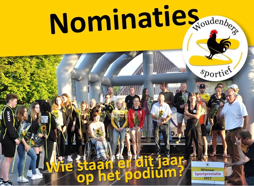 Nominaties sportprijzen bekend